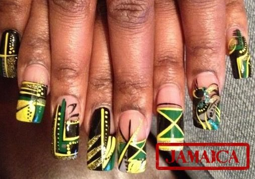 JAMAICA 50 Nail designs - Nails - FASHION WORLD